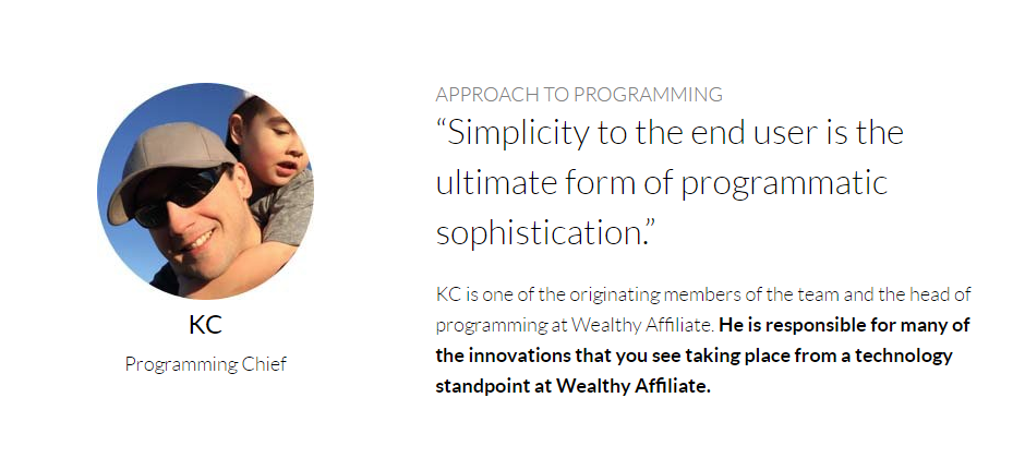 KC Programming Chief