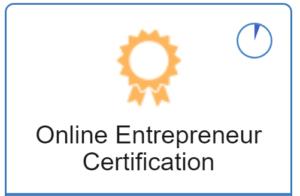 Online Entrepreneur Certification Logo