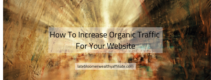 How to Increase Organic Traffic For Your Website