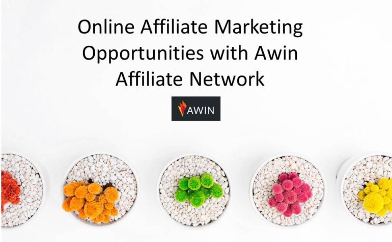 Online Affiliate Marketing Opportunities with Awin