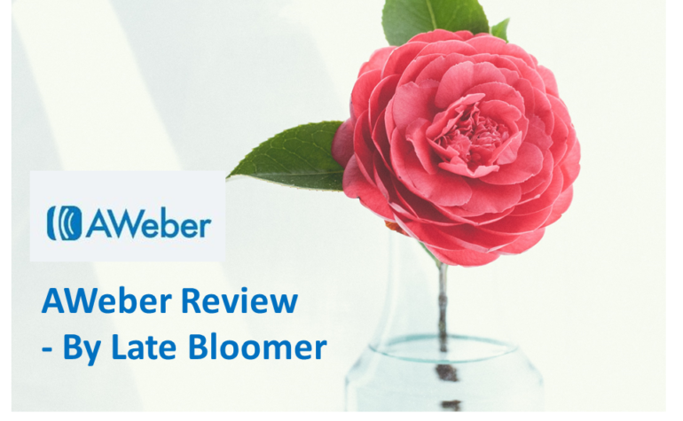 AWeber Review – by Late Bloomer