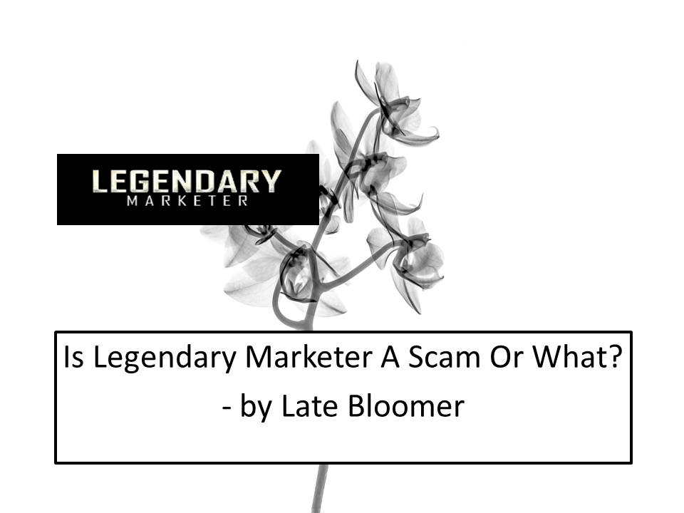 Is Legendary Marketer A Scam or What?