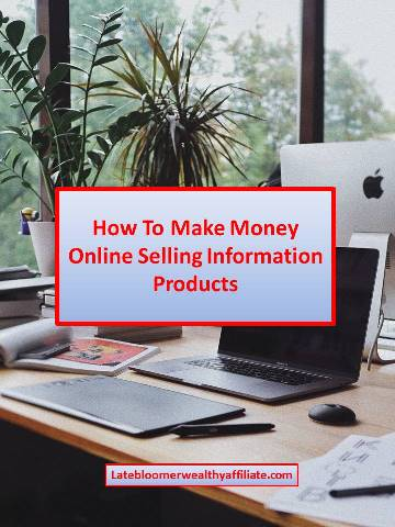 How To Make Money Online Selling Information Products