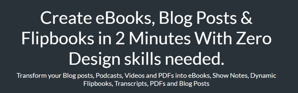 Designrr - Create eBooks, Blogs, Posts & Flipbooks in 2 Minutes