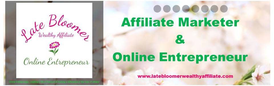 Late Bloomer Affiliate Marketer & Online Entrepreneur