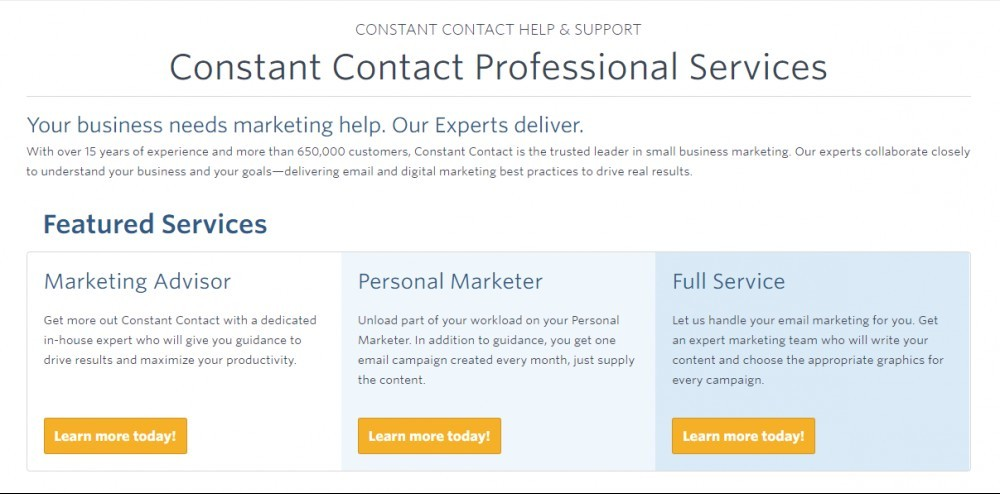 Constant Contact Reviews