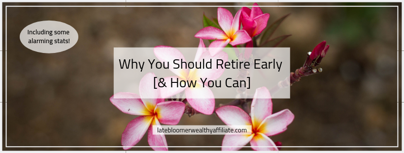 Why you Should Retire Early [& How You Can]