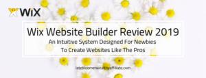 Wix Website Builder Review 2019