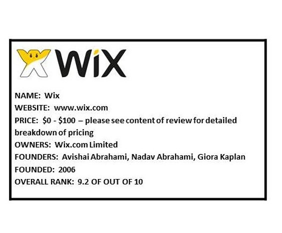 Wix Website Builder Review