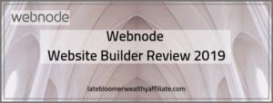Webnode Website Builder Review 2019