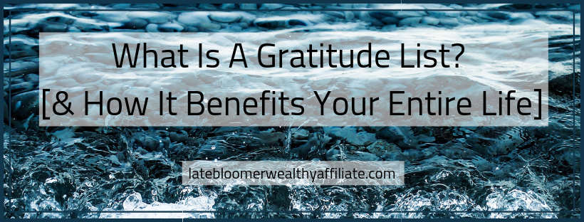 What Is A Gratitude List