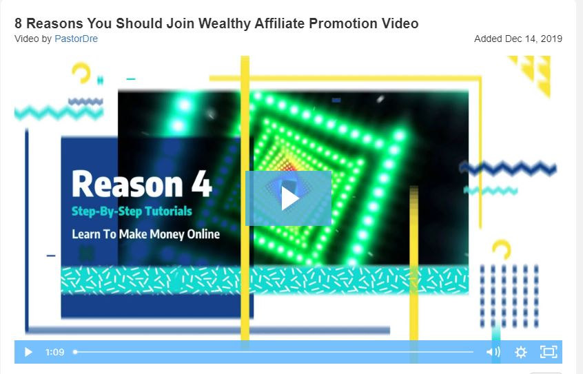 8 Reasons You Should Join Wealthy Affiliate