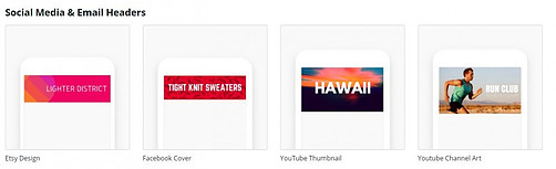 Design Types - Social Media & Email Headers
