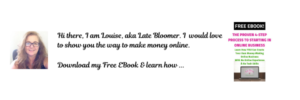 Free Ebook The Proven 4-Step Process to Starting In Online Business