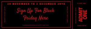 Your Black Friday Ticket