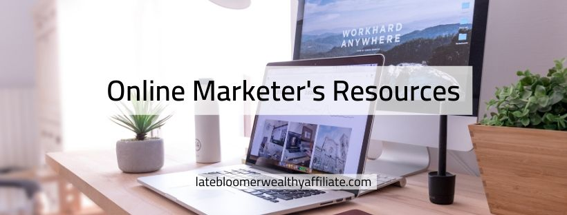 Online Marketer's Resources