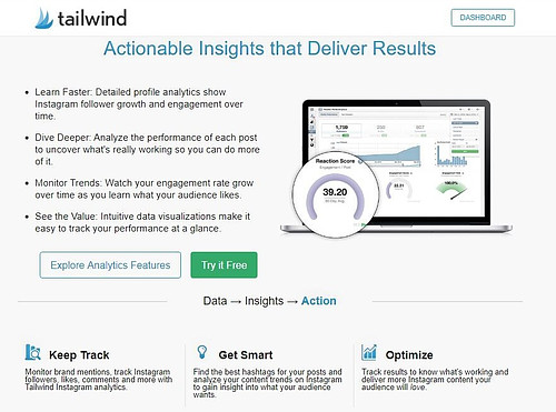 Tailwind Instagram Analytics