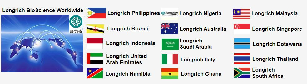 Longrich International Footprint