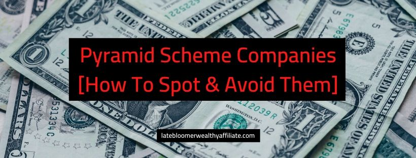 Pyramid Scheme Companies