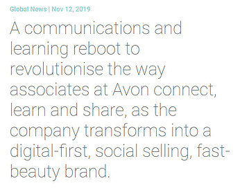 What Is Avon Cosmetics About