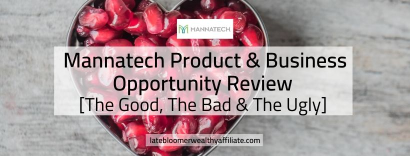 Mannatech Product And Business Opportunity Review
