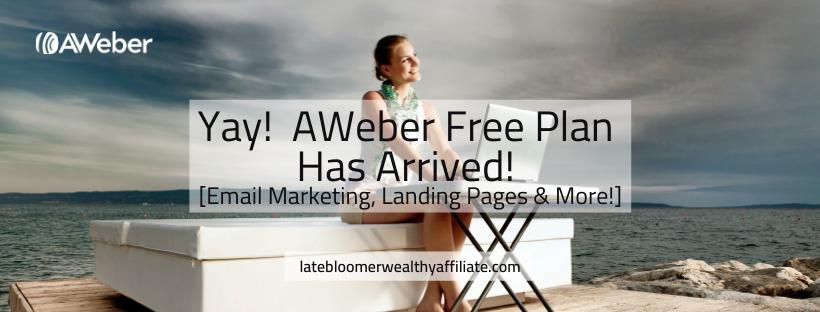 AWeber Free Plan