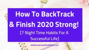 Night Time Habits For Success