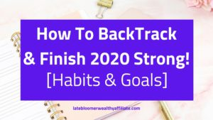 How To BackTrack & Finish 2020