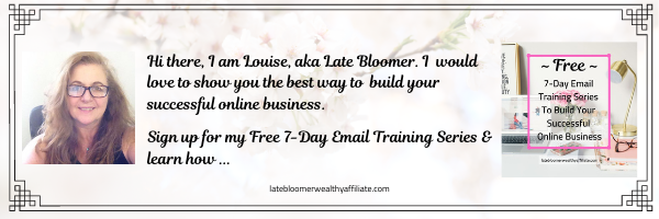 Free 7 Day Email Training Series
