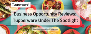 Business Opportunity Reviews - Tupperwear Under The Spotlight