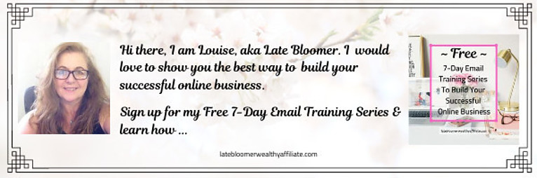 Free 7-Day Email Training Series To Build Your Successful Online Business