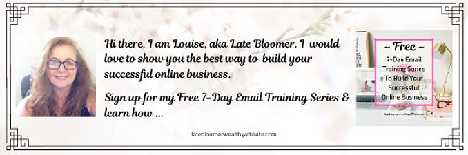 Free 7 Day Email Training Series To Build Your Own Successful Online Business