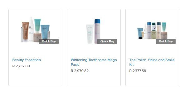 Nu Skin Business Start Up Kits