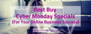 Best Buy Cyber Monday Specials
