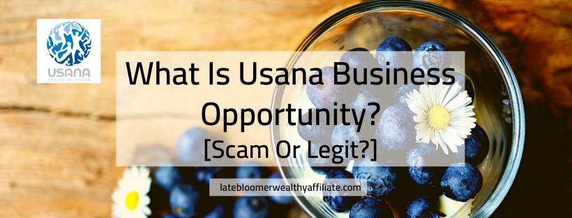 Usana Business Opportunity
