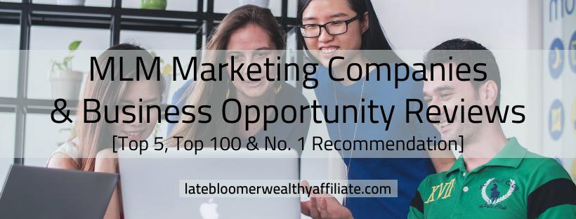 MLM Marketing Companies